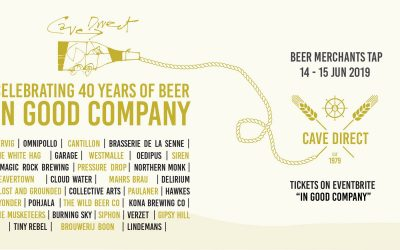 """Come celebrate 40 years of beer """"In Good Company""""!"""